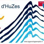 Donor promoot bloedgeven op de Alpe d'Huzes.